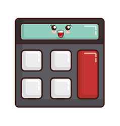 Calculator icon image vector