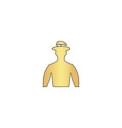 Cowboy computer symbol vector