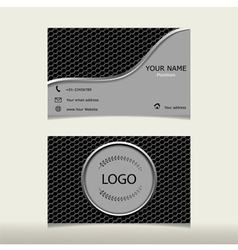 Design templates name card vector