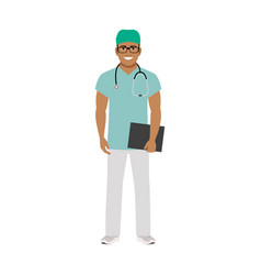 family doctor medical specialist vector image