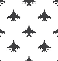fighter seamless pattern vector image