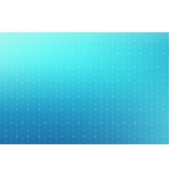 Geometric abstract pattern with connected line and vector image