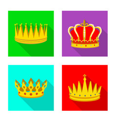 Medieval and nobility icon vector