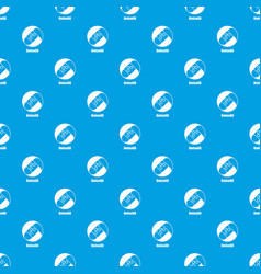 omisego pattern seamless blue vector image