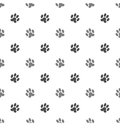 Seamless Cat Animal Paw Pattern vector