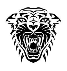tiger 0014 vector image
