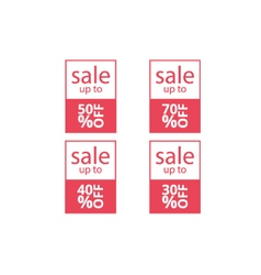 banners sale set vector image