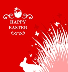 hare card vector image vector image