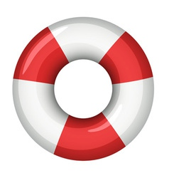 Life saver icon vector image