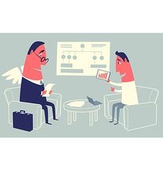 Startup presentation vector image vector image