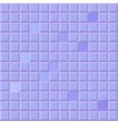 Violet volume squares vector image vector image