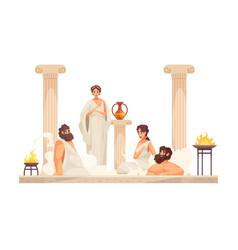 Ancient rome vector