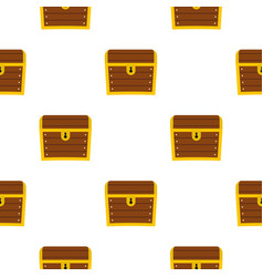 chest pattern flat vector image vector image