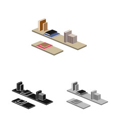 Design of bedroom and room logo collection vector