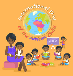 International day of african child vector