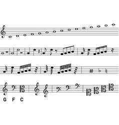 Notation vector