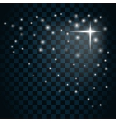 Shine star sparkle icon 13 vector