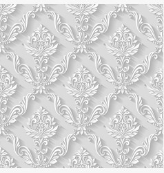 Vintage pattern background vector image
