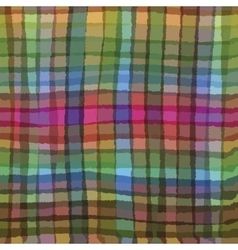 Multicolor checkered pattern vector image