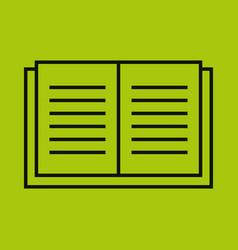 text book school supply vector image