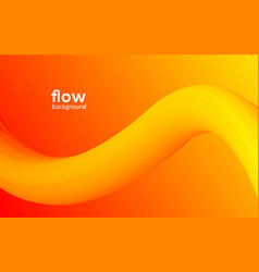 abstract futuristic flow background wave pattern vector image