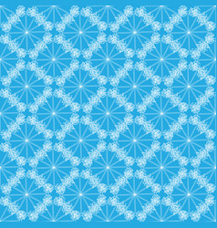abstract geometric dandelion seamless pattern vector image