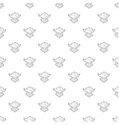 asian pagoda pattern seamless vector image