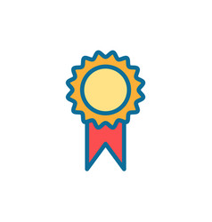 award flat icon sign symbol vector image
