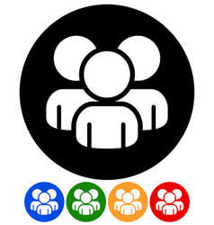 characters figures icon graphic vector image
