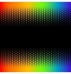 halftone template vector image