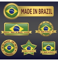MADE IN BRAZIL vector