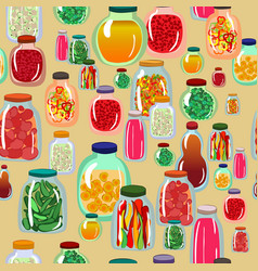Pickles seamless pattern vector