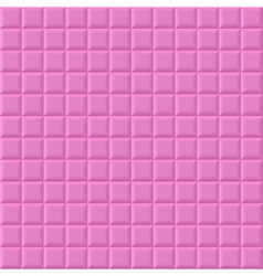 Pink volume squares vector