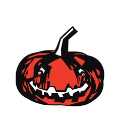 Pumpkin Color vector image