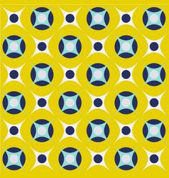 Retro mid century geo geometric 70s circles vector