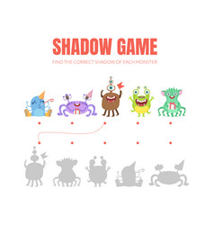 Simple game with shadows on a vector