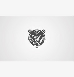 tiger icon sign symbol vector image