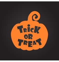 Trick or treat halloween background vector