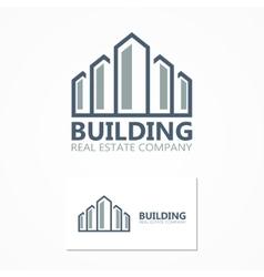 building icon or logo vector image