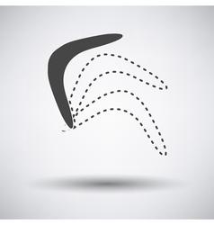 Boomerang icon vector image