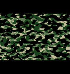 military camouflage army fabric texture vector image