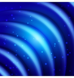 Multicolor background of wavy folds vector image