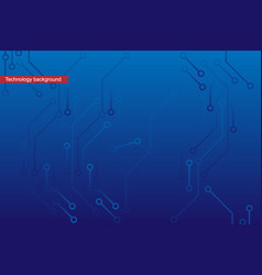 technology micro scheme pattern background vector image