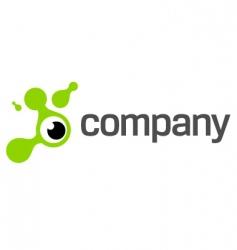 eye photography logo vector image