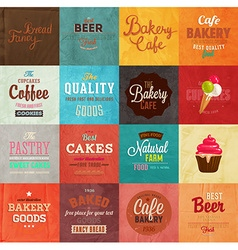 Retro Bakery Label vector image vector image