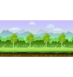 game background 2d application design vector image vector image