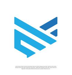 Abstract logo wing symbols vector