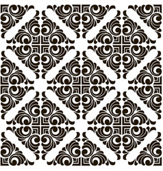abstract seamless patchwork pattern vector image