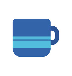 coffee cup office flat icon design vector image