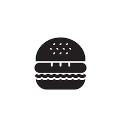 Hamburger Icon Black vector
